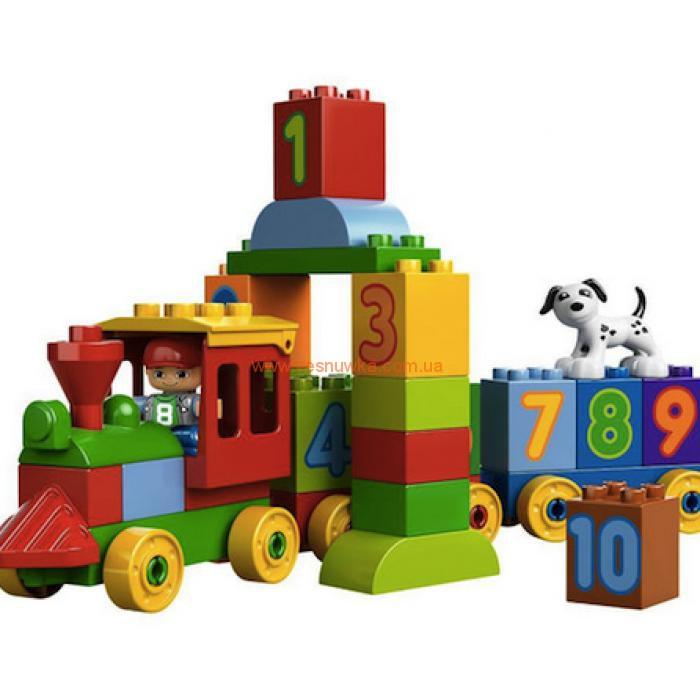"""Поезд с цифрами""  LEGO® DUPLO®"