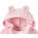 """Махровый Набор 3в1 Carters  Веселые попки """"Розовый мишка"""""""