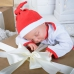 Новогодняя шапочка «Веселый Санта»